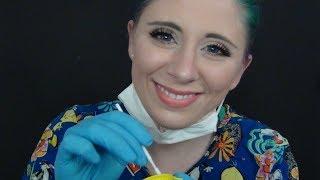 [ASMR] Pediatric Dental  Exam RP