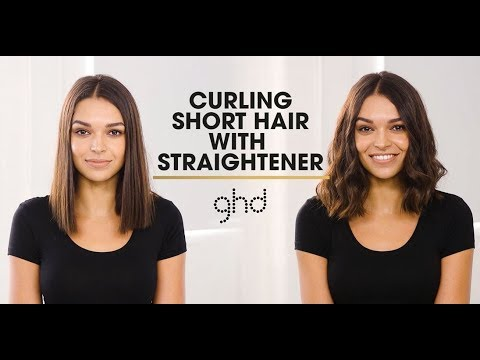 How To Curl Hair With Straighteners | Ghd Techniques
