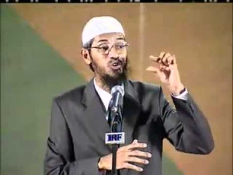Dr. Zakir Naik proves that caste system is wrong.flv