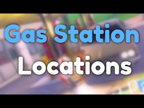 "(WEEK 5) ""Visit Different Gas Station Locations""  Every Gas Station Location in Fortnite"