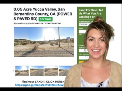 0.65 Yucca Valley Property (with POWER & PAVED ROAD) in San Bernardino County, CA