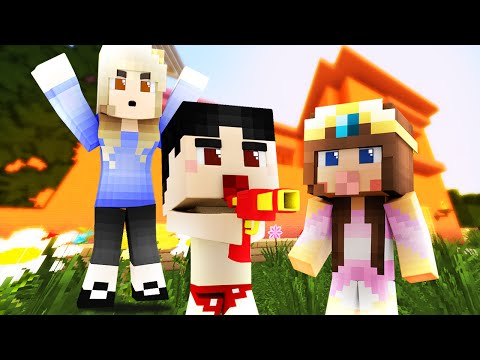 Minecraft - WHO'S YOUR MOMMY? - BABY KILLS MOMMY!