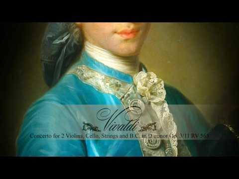 A. VIVALDI: Concerto for 2 Violins and Cello in D minor Op. 3/11 RV 565, Akademie für Alte Musik