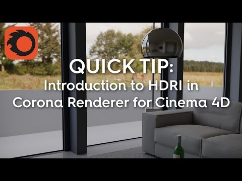 How to set up HDRI environment in Corona for C4D? : Corona Renderer
