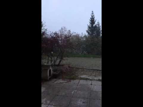 16 aprile 2016 - Neve in Fobbia