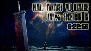 Final Fantasy VII Remake Speedrun in 6:22:56 (Current World Record) - Any% Easy Mode