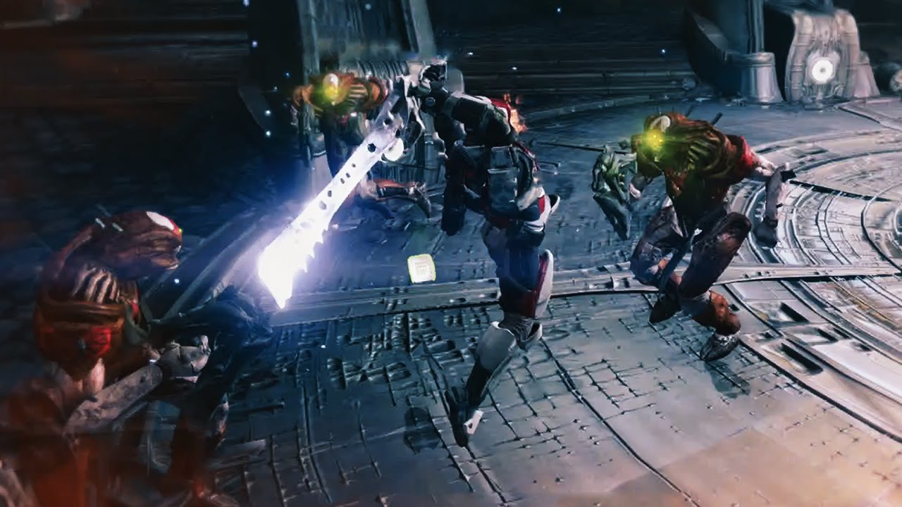 Destiny Sword Gameplay The Sword Of Crota Youtube