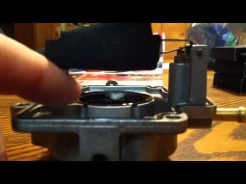 John Deere 318 >> fd620d carburetor float adjustment - YouTube
