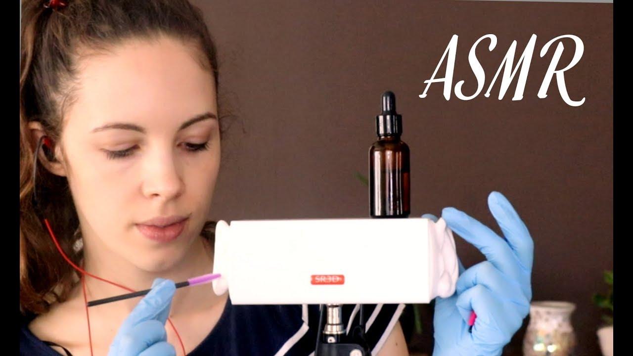 An ASMR Ear Cleaning & Ear Shaving For Tingles & Sleep