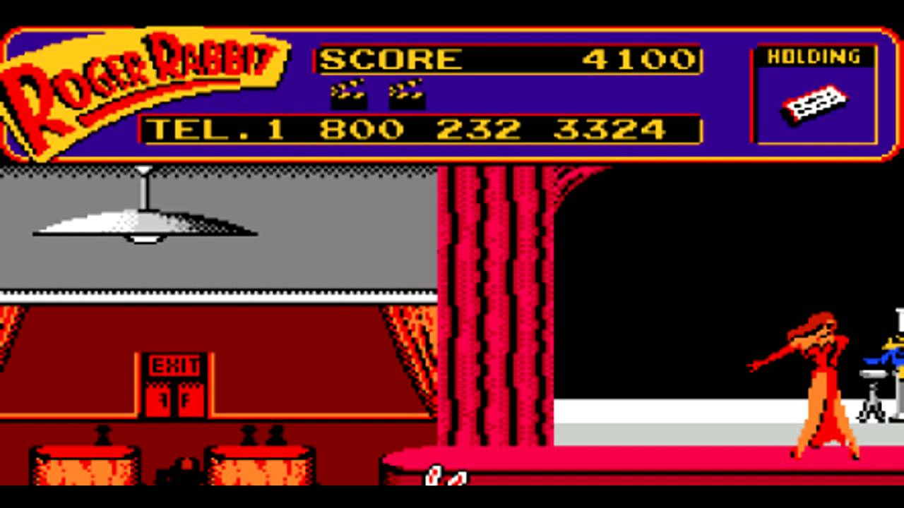 calling the number from the roger rabbit nes game 2014 - Who Framed Roger Rabbit Nes