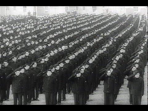 HD Historic Archival Stock Footage WWII - U.S. Training Huge Merchant Marine! 1942