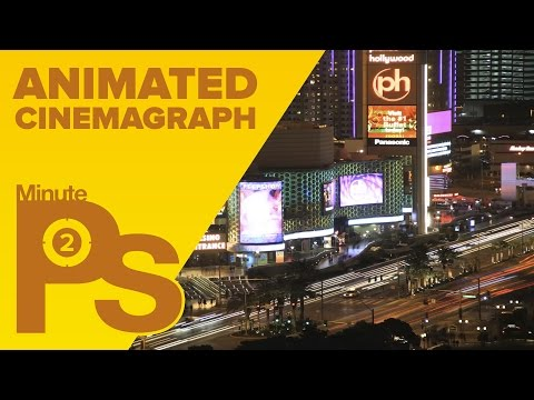 Turn a Short Video into a Cinemagraph in Photoshop In Minutes