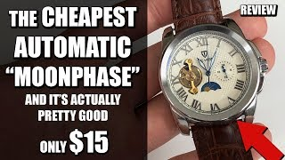 "Here is a full review of Tevise 999 it's an automatic ""moon phase"",..."