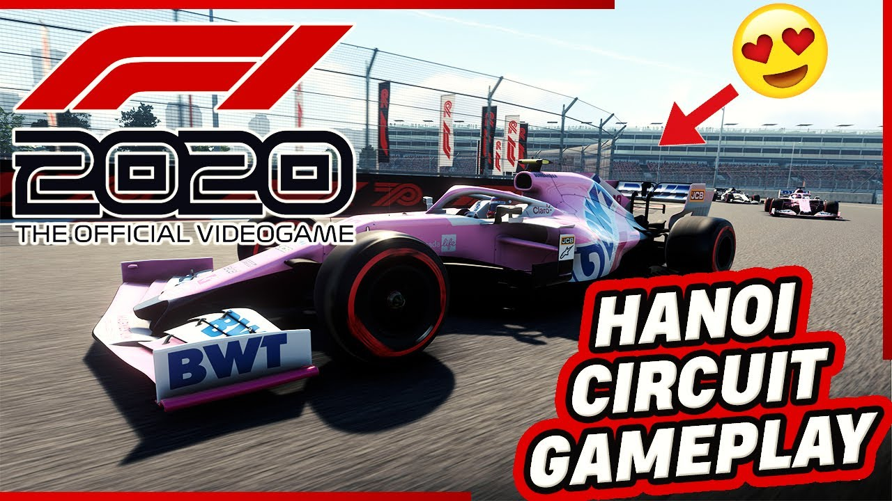 F1 2020 Gameplay Trailer - Hanoi Circuit (Vietnam Race Track)