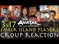 Avatar The Last Airbender 3x17 Ember Island Players Group Reaction