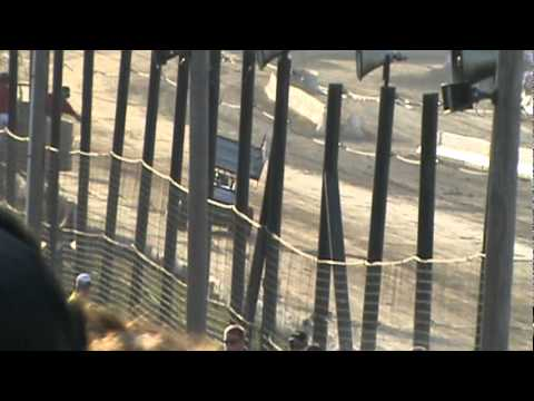 2011 LEBANON VALLEY SPEEDWAY WoO SPRINT CARS JESSICA ZEMKEN TIME TRIAL