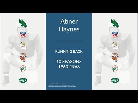 Abner Haynes: Football Running Back
