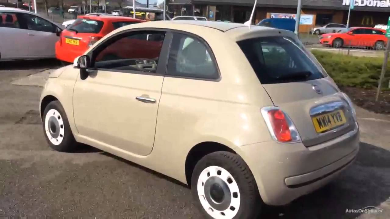 fiat 500 colour therapy beige buff 2014 youtube. Black Bedroom Furniture Sets. Home Design Ideas