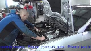Замена звезд распредвалов на Mercedes Benz  212(Наша компания занимается специализированным техническим обслуживанием автомобилей
