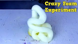 Cool Foam Experiment