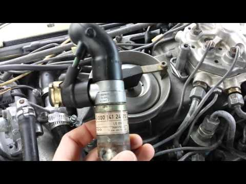 Download Video 300e 1989 Mercedes Idle Control Valve And