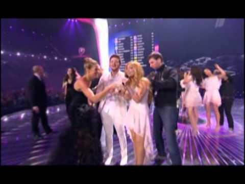 Eurovision 2011 - Ell & Nikki - Running Scared - Azerbaijan (rewarding And Winner Song)