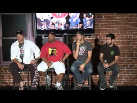 Nerd HQ 2011 - Zachary Levi, Adam Baldwin, Joshua Gomez, Mark Christopher Lawrence