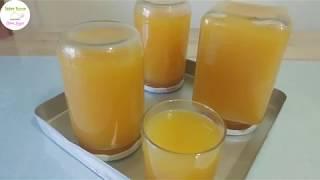ŞEFTALİ SUYU/ DOĞAL YAPIM/Okullar açıldı meyve suyu yapmak lazım gelir.