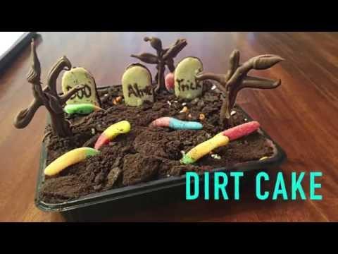EASY RECIPE | No Bake Dirt Cake