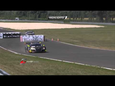 FIA GT - Slovakia - Qualifying Race - Short Highlights