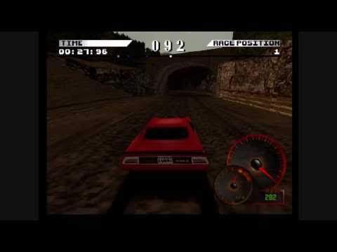 Test Drive 4 HD: Plymouth Hemi Cuda, Keswik ENgland reverse