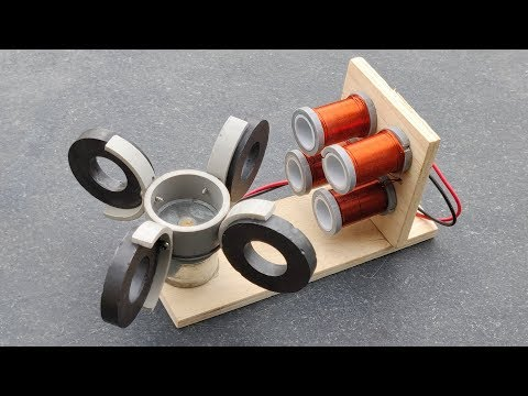 Free Energy Generator Using High Power Copper Coil