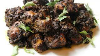 CURRY LEAVES CHICKEN CURRY-Kariveppilai Chicken Curry