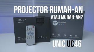 PROJECTOR WIFI DIBAWAH 1 JUTA! UNIC UC46 WIFI Review!