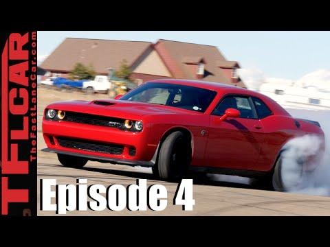 Hellcat VS. Drifting: How to Drift a Dodge Challenger Hellcat - Ep.4