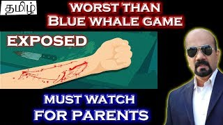 (Tamil) Blue Whale Game EXPOSED !! All 50 KILLER Challenges with BRAIN WASHING MUSIC | Suicide Game