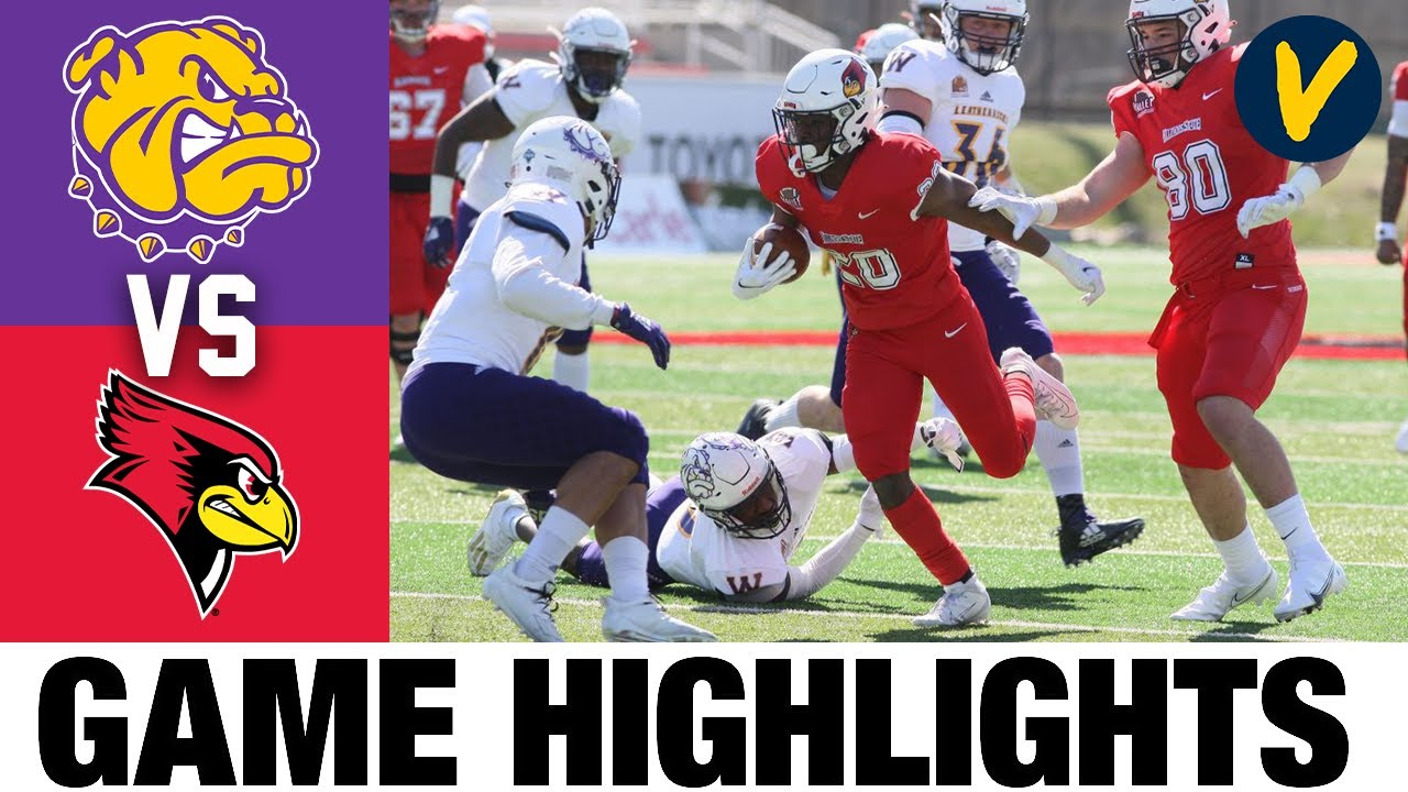 Western Illinois vs Illinois State Highlights | FCS 2021 Spring College Football Highlights