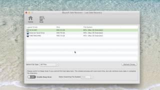iSkysoft Data Recovery - Stellar Phoenix Data Recovery Alternative for Mac OS X 10.11