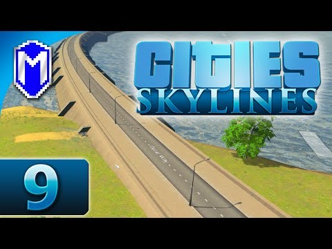 Cities Skylines - Building The Damn Dam, Hydro Power - Let's Play Cities Skylines Gameplay Part 9