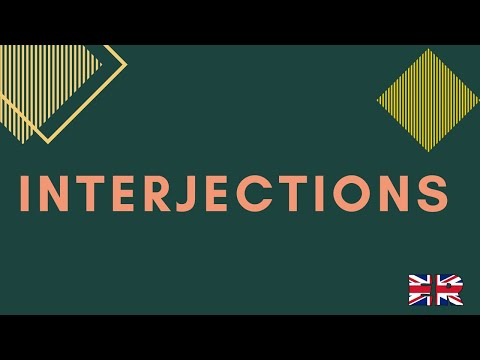 Interjections in English - explained