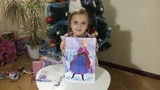 Картина из пайеток Анна Холодное сердце DIY picture Ranok Creative Anna Frozen Disney