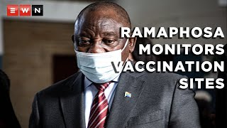 President Cyril Ramaphosa visited the Rabasotho Community Centre in Thembisa on 29 July 2021 to monitor how the vaccine rollout was proceeding. He said the progress made in the number of citizens who have chosen to get the jab could get the country to herd immunity soon.  #COVID19 #CyrilRamaphosa #VaccineRollout