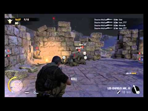 sniper elite 3 multiplayer cheats