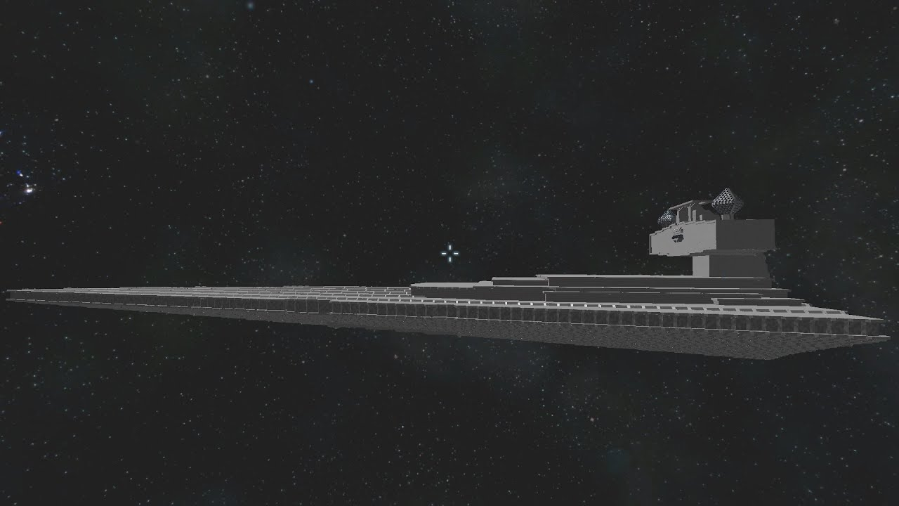 Space Engineers   Ful Scale Imperial Class 2 Star Destroyer   YouTube