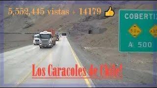 Los Caracoles Chilenos sin Nieve!!!