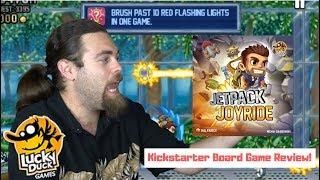 Jetpack Joyride - Kickstarter - Board Game Review