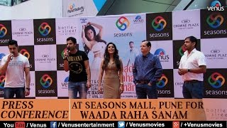 Press conference of song waada raha sanam at seasons mall pune | ft : vipin sharma & sonia dey
