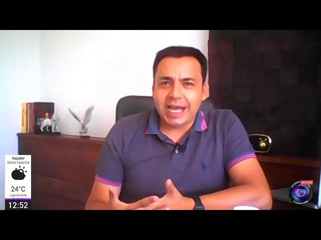 📰 JORNAL CDN - Entrevista com o Tenente Célio Alvarenga do 15º Batalhão da PM de Caçador - SC