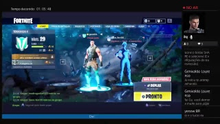 Fortnite com amigos