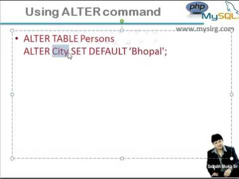 Chapter 14 Set DEFAULT value in MySQL Hindi YouTube 360p